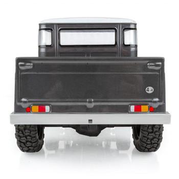 Team Associated CR12 Toyota FJ45 Truck RTR 1/12 4WD Rock Crawler (Grey) w/2.4GHz Radio, Battery & Charger