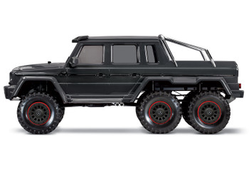 Traxxas TRX-6 1/10 6x6 Trail Crawler Truck w/Mercedes-Benz G 63 AMG Body (Black) w/TQi 2.4GHz Radio