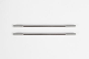 Axial Steel Links M4x92mm SCX10 II (2) (AX31473)
