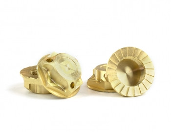 Avid RC Triad 17mm Capped Wheel Nuts (Brass) (4pcs)