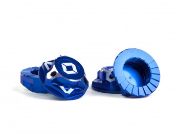 Avid RC Triad 17mm Capped Wheel Nuts (Blue) (4pcs)