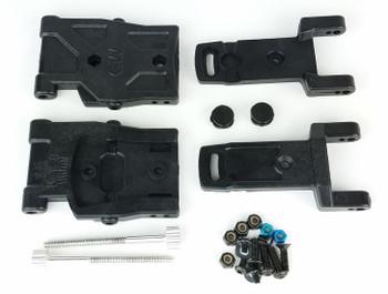 Custom Works RC Adjustable Toe Rear Arm Kit - B6.1