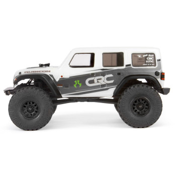 Axial 1/24 SCX24 2019 Jeep Wrangler JLU CRC Rock Crawler 4WD RTR, White (AXI00002T1)