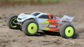 Losi 1/18 Mini-T 2.0 2WD Stadium Truck RTR (Gray/White)