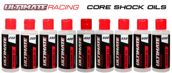 Ultimate Racing Core Shock Oil Set (250 - 650) (9pcs) (UR250650)