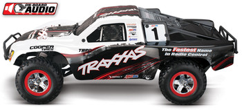 Traxxas Slash 1/10 RTR Short Course Truck (White) (w/On Board Audio, XL-5 ESC & 2.4GHz Radio)