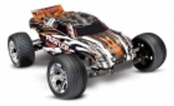 Traxxas Rustler 1/10 RTR 2WD Electric Stadium Truck (Orange)