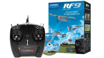 RealFlight 9 Flight Simulator w/Spektrum Transmitter