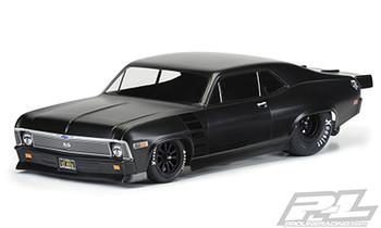 Pro-Line 1969 Chevrolet Nova Short Course Drag Car Body (Clear) (PRO3531-00)