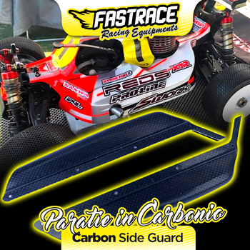 FasTrace side plates in carbon/kevlar side guard for Sworkz S35-3/S35E