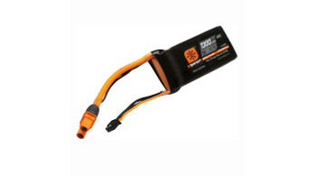 Spektrum RC 11.1V 1300 mAh 30C 3S Smart LiPo Battery, IC3 (SPMX13003S30M)