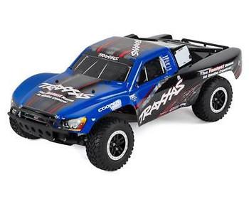 Traxxas Slash VXL 1/10 RTR 2WD Short Course Truck (blue racing edition) w/TSM & TQi Radio