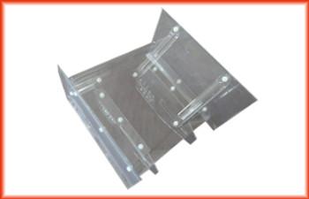 """CDK 6"""" x 6"""" Sprint HD Flat Top Wing, Braces, Side Boards, & Mount"""