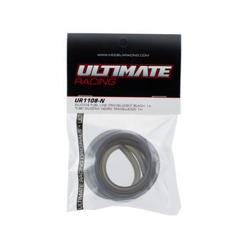 Ultimate Racing Silicone Fuel Line (Translucent Black) (1m) (UR1108-N)