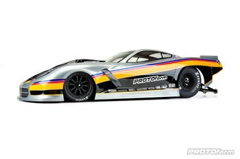 Protoform Chevrolet Corvette C7 1/10 Pro-Mod Short Course Drag Car Body (Clear)