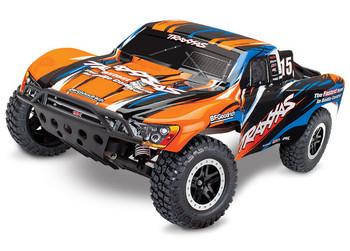 Traxxas Slash 1/10 RTR Short Course Truck (Orange/Blue) w/XL-5 ESC, TQ 2.4GHz Radio, Battery & Charger