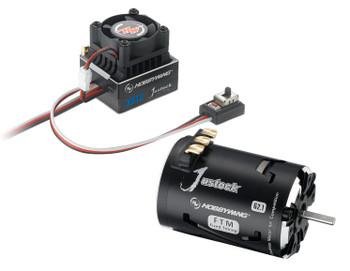 Hobbywing XR10 Justock Sensored Brushless ESC/SD G2.1 Motor Combo (25.5T)