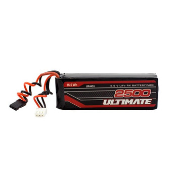 Ultimate Racing 6.6v 2500mAh LiEe Flat Receiver Pack (JR) (UR4453)
