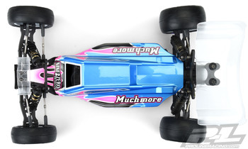 Pro-Line Yokomo YZ2 Axis 2WD 1/10 Buggy Body (Clear) (Light Weight)
