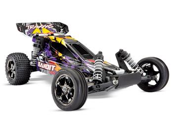 Traxxas Bandit VXL Brushless 1/10 RTR 2WD Buggy (Purple) w/TQi 2.4GHz Radio & TSM