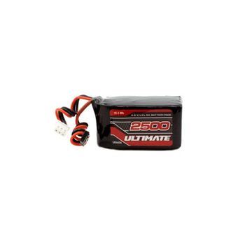 Ultimate Racing 6.6v 2500mAh LiEe Hump Receiver Pack (JR)