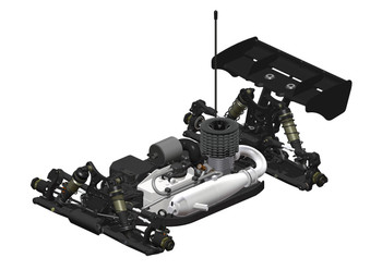 HB Racing D819RS 1/8 Competition Nitro Buggy