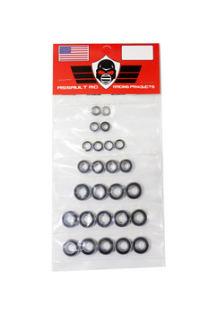JQ Racing Black Edition Complete Bearing Kit (ABEC5)