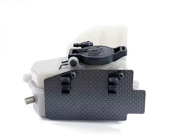 Assault RC 1mm Carbon Fiber Fuel Tank Guard for JQ Racing Black Edition