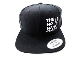 No Name RC Podcast Snapback Logo Hat (Black)