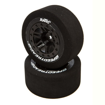DuraTrax SpeedTreads Antic Foam SC Mounted Tires (Black)