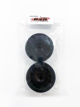 BSR 1:8 Dirt Oval Foam Tire (Black Wheel) (2) - PINK XX