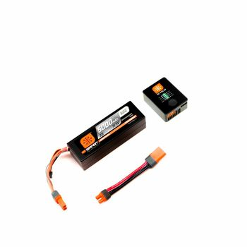 Spektrum RC Smart PowerStage 3S Bundle w/3S Smart LiPo Hard Case Battery (5000mAh)