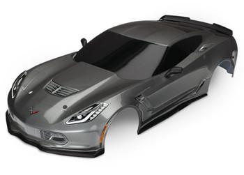 Traxxas Chevrolet Corvette Z06 Body with Decals (Graphite)