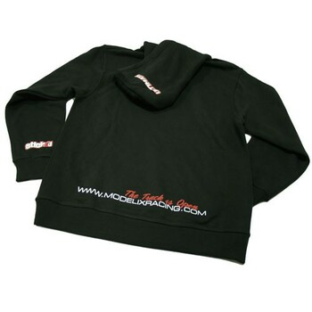 Ultimate Racing Logo Hooded Sweatshirt - (Black)
