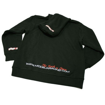 Ultimate Racing Logo Hooded Sweatshirt - (Black)