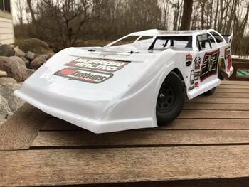 MR Kustoms Iceman SC/1:8 Late Model Body (.040)