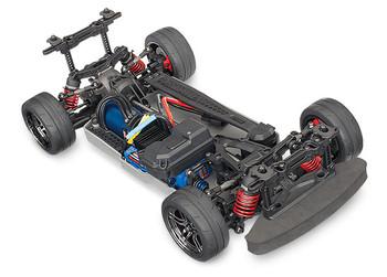 Traxxas 4-Tec 2.0 VXL 1/10 Brushless RTR Touring Car Chassis (NO Body) w/TQi 2.4GHz Radio & TSM