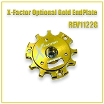 "Trinity Revtech X-Factor ""Gold"" Endbell with Bearing"