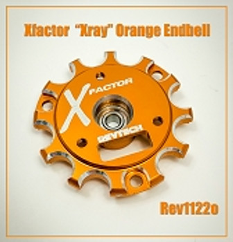 "Trinity Revtech X-Factor ""Orange"" Endbell with Bearing"
