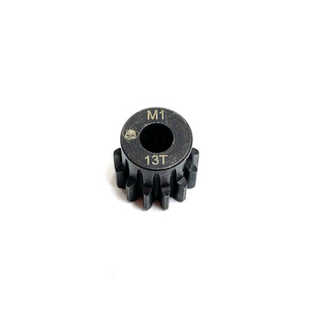 Assault RC Precision Steel Hardened Mod 1 Pinion Gear (13T) (5mm Bore)