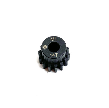 Assault RC Precision Steel Hardened Mod 1 Pinion Gear (14T) (5mm Bore)