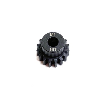 Assault RC Precision Steel Hardened Mod 1 Pinion Gear (16T) (5mm Bore)
