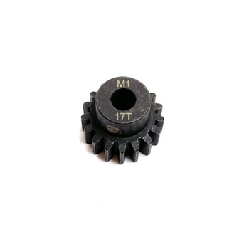 Assault RC Precision Steel Hardened Mod 1 Pinion Gear (17T) (5mm Bore)