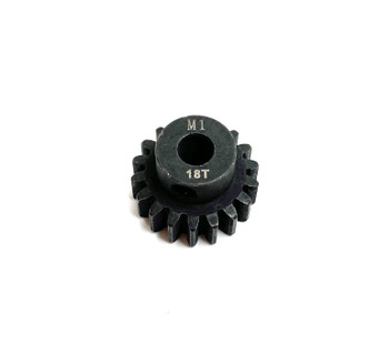 Assault RC Precision Steel Hardened Mod 1 Pinion Gear (18T) (5mm Bore)