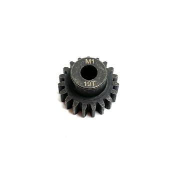 Assault RC Precision Steel Hardened Mod 1 Pinion Gear (19T) (5mm Bore)