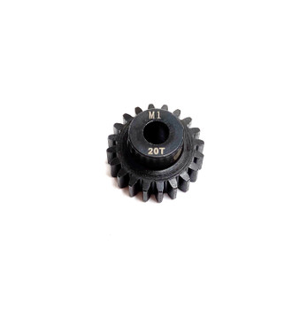 Assault RC Precision Steel Hardened Mod 1 Pinion Gear (20T) (5mm Bore)