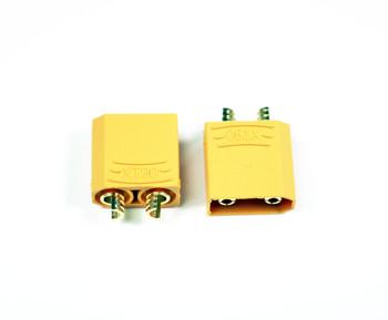 Assault RC High Current XT90 Connectors (2) (Male/Device)