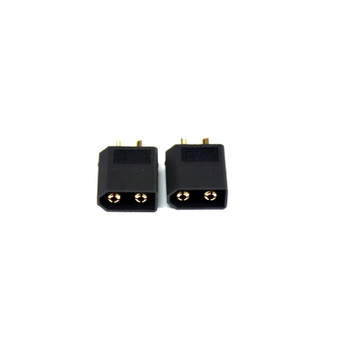 Assault RC Blacked Out High Current XT60 Connectors (2) (Male/Device)