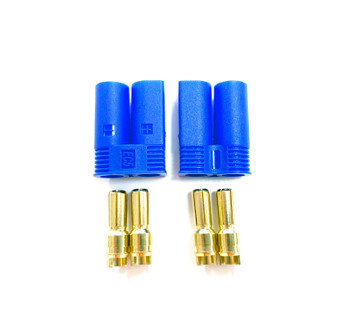Assault RC High Current EC5 Connectors (2) (Male/Device)