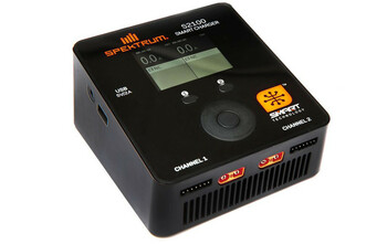 Spektrum RC Smart PowerStage 4S Bundle w/Two 2S Smart LiPo Hard Case Batteries (5000mAh)